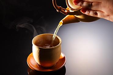 Teapot and Yunomi