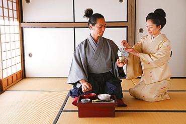 Samurai Couple