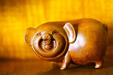 Wooden Piggybank