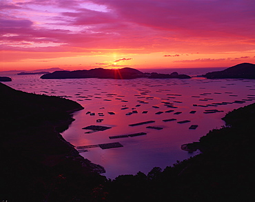Mushiake Bay, Okayama, Japan