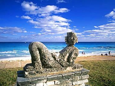 Chac Mool Statue, Cancun, Mexico