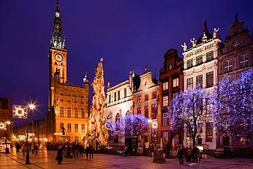 Dlugi Square, Gdansk, Poland