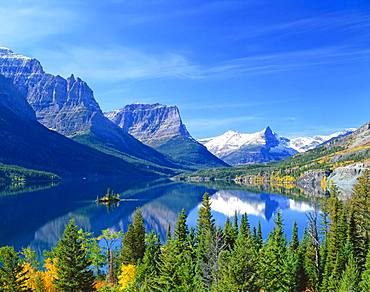 St.Mary LakemGlacier National Park, America