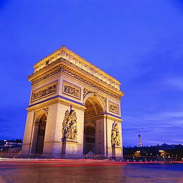 Triumphal Arch, Paris, France