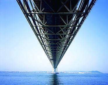 Akashi Kaikyo Bridge, Hyogo, Japan