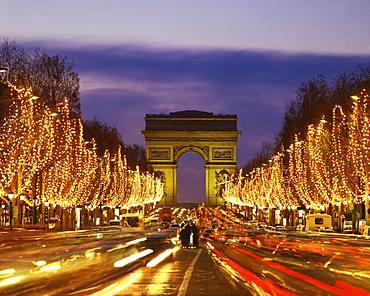 Champs Elysees Avenue, France
