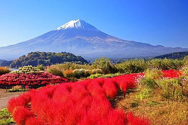 Mount Fuji from Yamanashi Prefecture, Japan
