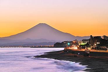 Beautiful view of Mount Fuji