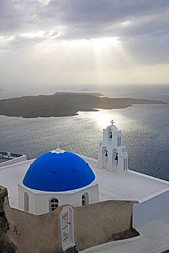 Greece, Cyclades Islands, Santorini Island, Thira
