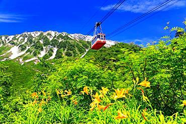 Mt. Tate, Toyama, Japan