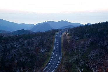 Shiretoko Crossing, Hokkaido, Japan