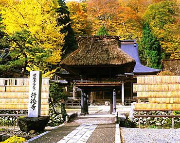 Japan, Toyama, Gyotoku-ji Temple