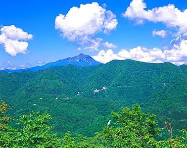 Mt.Iwaki from Shirakami-Sanchi, Aomori, Japan