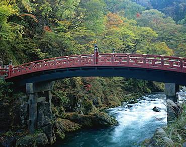 Shinkyo Bridge, Tochigi, Japan