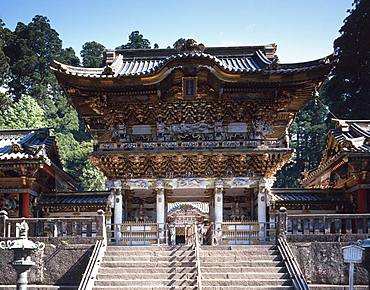 Youmeimon, Nikko Tosho-gu, Tochigi, Japan