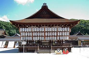 Shimokamo Shinto Shrine, Kyoto, Japan