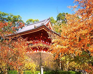 Ninnaji Temple, Belfry, Kyoto, Japan