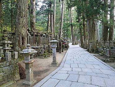 Okunoin Cemetery, Koyasan, Wakayama, Japan