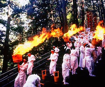 Fire Festival of Nachi, Wakayama, Japan
