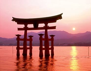Ootorii in the Evening, Hiroshima Prefecture, Japan