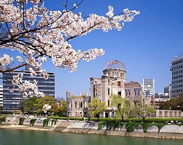 Hiroshima Peace Memorial, Hiroshima Prefecture, Japan