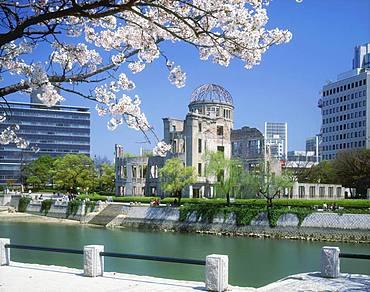 Hiroshima Peace Memorial, Atomic Bomb Dome, A-Bomb Dome