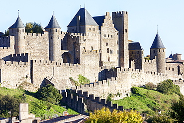 The citadel of Carcassonne (France)