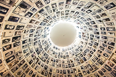 Yad Vashem, Holocaust Museum and Memorials, Hall of Names, Jerusalem, Israel