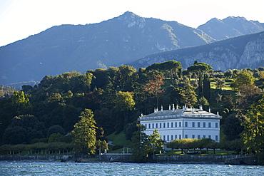 View of Villa Melzi with Park in Bellagio, Lake Como, Italy