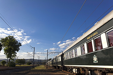 The luxury train Rovos Rail (journey from Durban to Pretoria, South Africa)