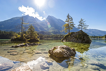 The beautiful Hintersee, Bavaria, Germany