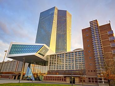 The European Central Bank, Frankfurt am Main, Germany