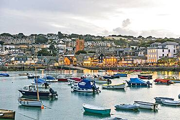 Bay of St. Ives, Cornwall, England