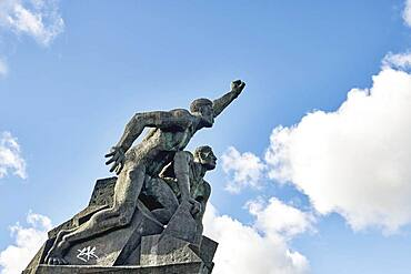 Sailor's monument, Rostock, Germany