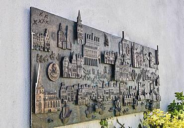 The Vicke-Schorler relief by Jo Jastram, Rostock, Germany