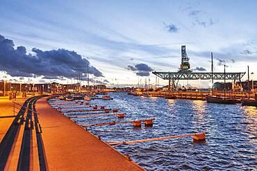 Rostock harbour, Germany
