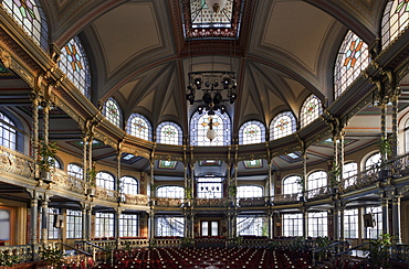 Interior of Kurhaus Theatre in Goeggingen, Augsburg, Bavaria, Germany