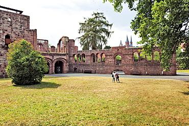 Ruins of Imperial Palace in Gelnhausen, Hesse, Germany