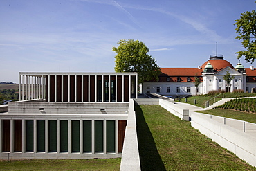 View of Modern Literature Museum and Schiller National Museum, Baden-Wurttemberg, Germany