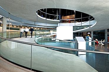Interior of Olympic Museum, Ouchy, Lausanne, Romandie, Lake Geneva, Switzerland