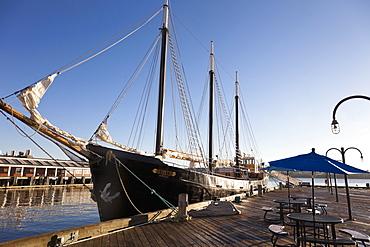 View of sailing ship at Halifax Regional Municipality, Nova Scotia, Canada