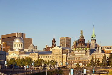 View of skyline at Montreal, Canada