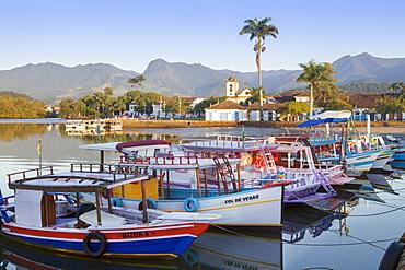 Paraty port, Rio de Janeiro State, Brazil, South America