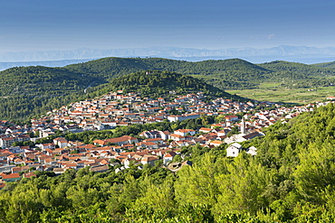 Blato town, Korcula Island, Dalmatia, Croatia, Europe