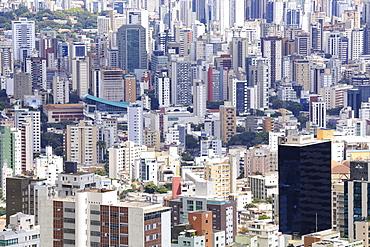 Apartment blocks in the city centre, Belo Horizonte, Minas Gerais, Brazil, South America