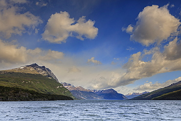 Lake in Tierra del Fuego National Park, Argentina, South America