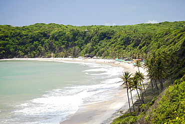 Praia do Madeiro, Pipa, Rio Grande do Norte, Brazil, South America