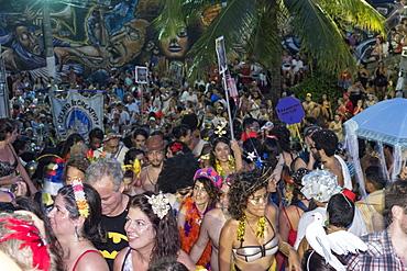 The Banda da Conceicao street carnival troupe in Rio de Janeiro Carnival, Rio de Janeiro, Brazil, South America