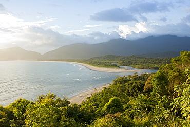 View of Fazenda Beach, Ubatuba, Sao Paulo, Brazil, South America