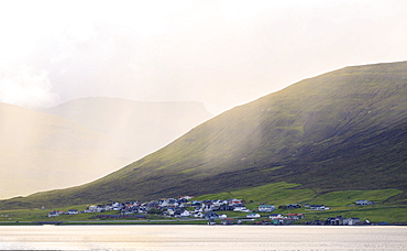 Hvalvik, Streymoy Island, Faroe Islands, Denmark, Europe
